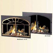 Decorative Fireplace Door Kit