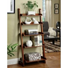 """Brownville 55"""" Leaning Bookcase"""