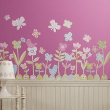 Baby Daisy Wall Decal (Set of 2)