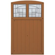 """Baycrest 42"""" x 68"""" Gate with Faux Glass Insert"""