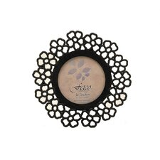Harvest Home Glover Daisy Round Picture Frame
