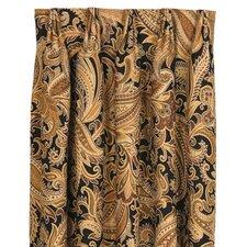 Langdon Paisley Room Darkening Pinch Pleat Single Curtain Panel