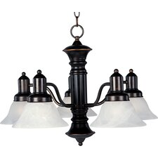 Newburg 5-Light Shaded Chandelier