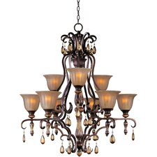 Dresden 9-Light Shaded Chandelier