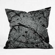 CityFabric Inc Paris Indoor/Outdoor Throw Pillow