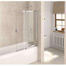 127.5cm x 82cm Sliding Bath Screen