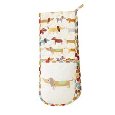 Hot Dogs Double Oven Glove