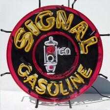 Signal Gasoline Neon Sign