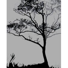 Nature Midnight Ginkgo by Jordan Carlyle Graphic Art