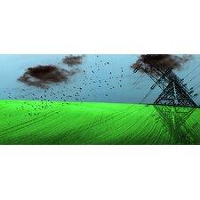 Landscape Electrified by Jordan Carlyle Graphic Art