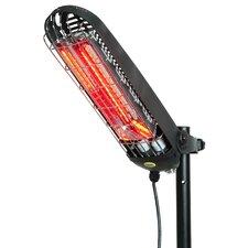 Lucciola 1200 Rod Holder and Umbrella Bracket Electric Patio Heater