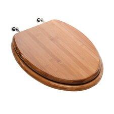 Premium Piano Wood Elongated Toilet Seat