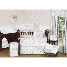 Diamond 9 Piece Crib Bedding Set