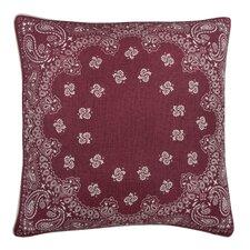 Fragments Bandana Cotton Throw Pillow