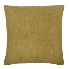 Fragments Solid Alcazar Cotton Throw Pillow