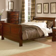 Chateau Brown Sleigh Bed