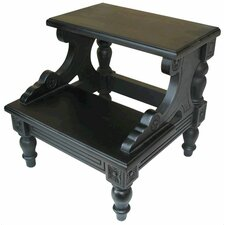 Mahogany 2-Step Mahogany Step Stool