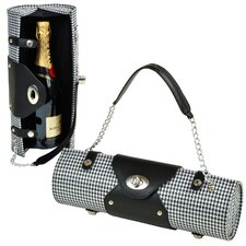 Patterned Wine Carrier and Purse