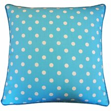 Dot Cotton Throw Pillow