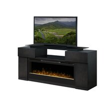 """Concord 73"""" TV Stand with Electric Fireplace"""