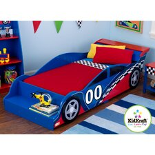 Racecar Toddler Car Bed
