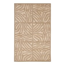 Modern Classics Hand Tufted Wool Beige/Taupe Area Rug