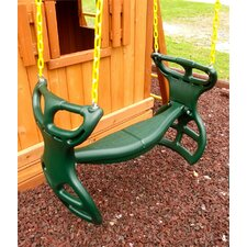 Heavy Duty Plastic Horse Glider with Coated Chain