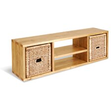 Classic Pine TV Stand for TVs up to 59""