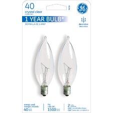 40W 120-Volt (2500K) Incandescent Light Bulb