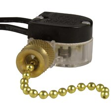 Plated Pull Chain Switch