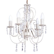 Lille 5 Light Crystal Chandelier