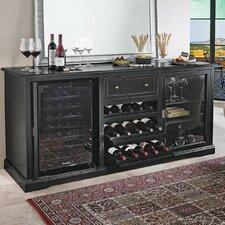 28 Bottle Siena Dual Zone Freestanding Wine Cooler