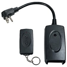 Outdoor Remote with Push Button Control