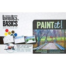 Basics Acrylic Fundamental Paint Tube Set