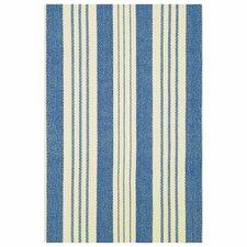 Hand Woven Blue Area Rug