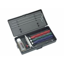 Lansky 3 Whetstones Diamond Sharpening Set