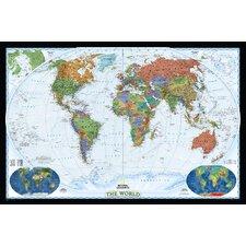 World Decorator Wall Map