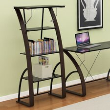 """Bentwood Londyn 60"""" Accent Shelves Bookcase"""