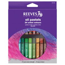 Oil Pastel Set (Set of 24)