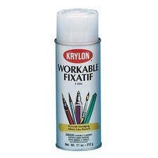 Workable Fixative Spray