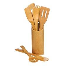 6-tlg. Küchenwerkzeug-Set mit Halter