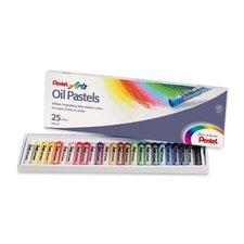 Round Stick Oil Pastel
