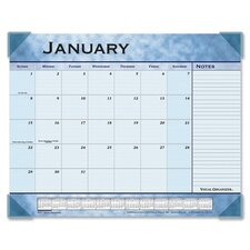 Recycled Monthly Desk Pad