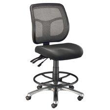 Argentum Mid-Back Mesh Drafting Chair