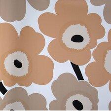 "Unikko 33' x 27"" Floral Embossed Wallpaper"