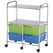 4-Drawer Storage Chest