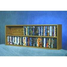 200 Series 176 DVD Multimedia Tabletop Storage Rack