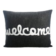 """Celebrate Everyday """"Welcome"""" Throw Pillow"""
