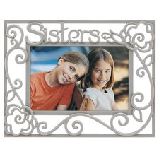 Sisters Pierced Picture Frame