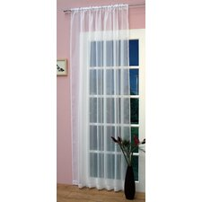 Crystal Single Curtain Panel